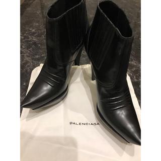 Balenciaga - 正規 BALENCIAGA  バレンシアガ  ショートブーツ 新品未使用 37