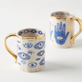 Anthropologie - アンソロポロジーマグカップ 2個SET