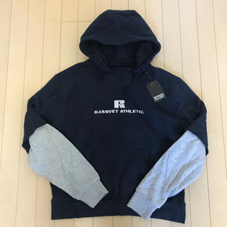 COMME des GARCONS - RASSVET×RUSSELL ATHLETIC フーディパーカー