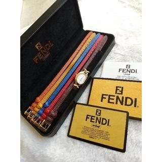 FENDI - フェンディ FENDI640L 腕時計 美品レディースクォーツ