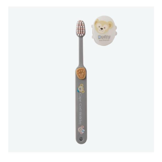 Disney(ディズニー)のダッフィー 歯磨きセット コスメ/美容のオーラルケア(歯磨き粉)の商品写真