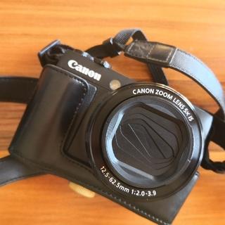 Canon - Canon G1X Merk2ミラーレス ★美品★革フルカバー付き★すぐ撮れる