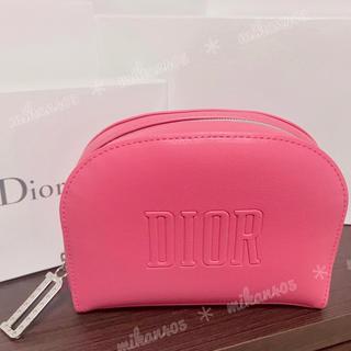 Dior - ディオール ノベルティ ラウンド ミニ ポーチ ノベルティー