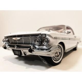 シボレー(Chevrolet)のサンスター/'61 Chevyシボレー Impalaインパラ 1/18 絶版(ミニカー)