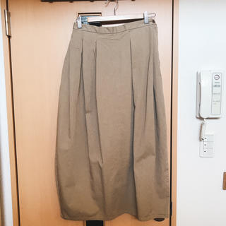 MUJI (無印良品) - 未使用品 / 無印良品 / ベージュロングスカート / MUJI