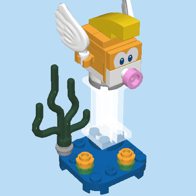Lego(レゴ)のゲッソーも【にげプクのみ!】レゴ スーパーマリオ キャラクターパック 71361 キッズ/ベビー/マタニティのおもちゃ(知育玩具)の商品写真