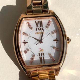 オリエント(ORIENT)のオリエント io  電波ソーラー レディース腕時計(腕時計)