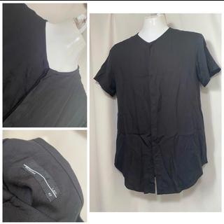 ラッドミュージシャン(LAD MUSICIAN)のLAD MUSICIAN テンセル ボタンシャツカットソー Tシャツ 42 XS(シャツ)