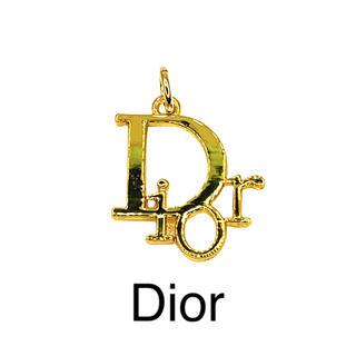 ディオール(Dior)のヴィンテージ ボタン★チャーム Dior★ゴールド(各種パーツ)