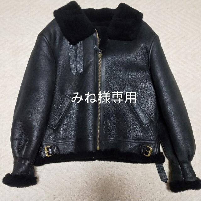 AVIREX(アヴィレックス)のAVIREXフライトジャケットB3サイズ42 みね様専用 メンズのジャケット/アウター(レザージャケット)の商品写真