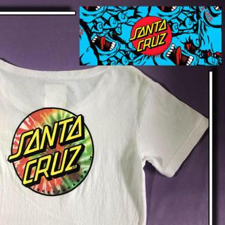 STUSSY - 美品  santa crus バックプリント 胸ロゴ s/s tシャツ