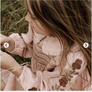 Caramel baby&child  - Apolina Nancy Dress Carnation ドレス ワンピース