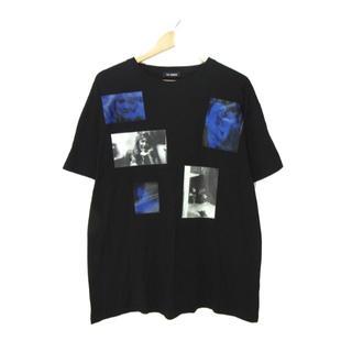 ラフシモンズ(RAF SIMONS)のラフ シモンズ ■ 20SS ブルーベルベット プリント Tシャツ(Tシャツ/カットソー(半袖/袖なし))