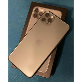 Apple - iPhone 11 Pro Max 256GB ミッドナイトグリーン