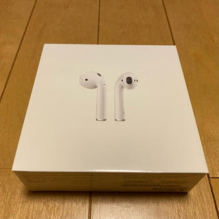 Apple - 第2世代 新品 未開封品 Apple AirPods MV7N2J/A 正規品