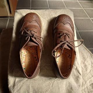 ヌォーボ(Nuovo)の新年セール未使用!NUOVO 茶色 紐靴(その他)