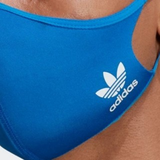 adidas - adidas FACE COVER M/Lsize ブルー1枚