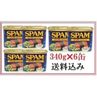 スパム減塩340g×6缶(缶詰/瓶詰)