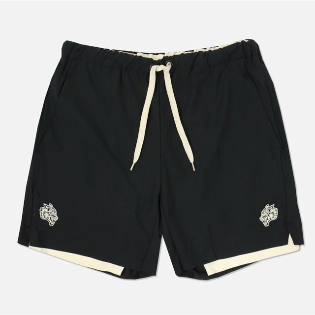 VANQUISH(ヴァンキッシュ)の【DarcSport】Track Shorts  カモ柄&クリーム[M] メンズのパンツ(ショートパンツ)の商品写真