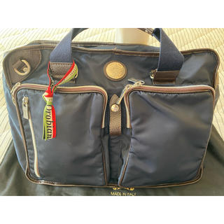 オロビアンコ(Orobianco)のオロビアンコ Oribianco 3WAYビジネスバッグ イタリア製 美品(ビジネスバッグ)