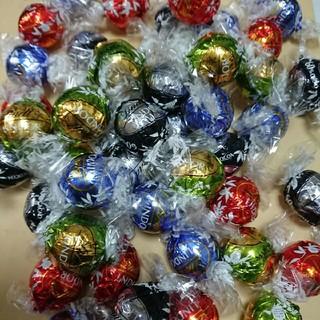 Lindt - 72個 リンツリンドールチョコレート シルバーアソート