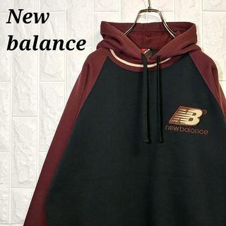 ニューバランス(New Balance)のニューバランス 90s パーカー スウェット トレーナー 刺繍ロゴ 裏起毛(パーカー)