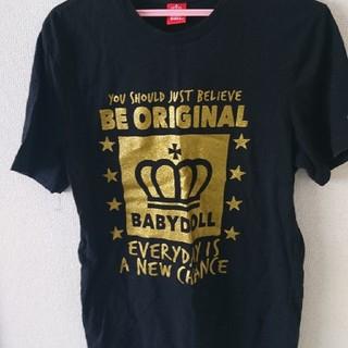 ベビードール(BABYDOLL)のベビードール Tシャツ L  激安❗(Tシャツ(半袖/袖なし))