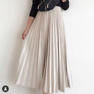 fifth - fifth 新品 プリーツスエードロングスカート ♡