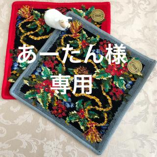 FEILER - 限定品レア!クリスマス柄 2枚セット フェイラー   タオルハンカチ