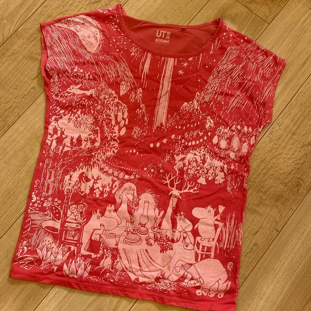 UNIQLO(ユニクロ)のUNIQLO ユニクロ UT ムーミン レディースM レディースのトップス(Tシャツ(半袖/袖なし))の商品写真