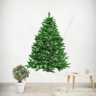クリスマスツリー タペストリー  X'mas 星柄 ②
