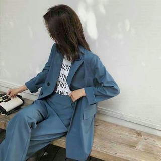 韓国 ファッション レディース セットアップ レディース 秋