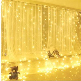 300LEDパーティーウェディングカーテンはUSBストリングライト(蛍光灯/電球)