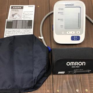 オムロン(OMRON)のオムロン 血圧計HEM-8713(体重計/体脂肪計)