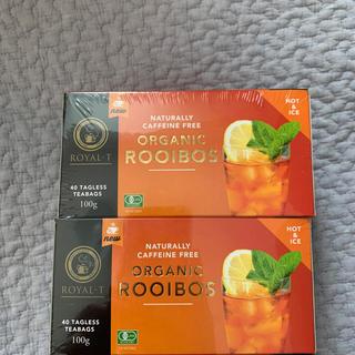 コストコ - オーガニック ルイボスティー 40袋/箱 2箱セット