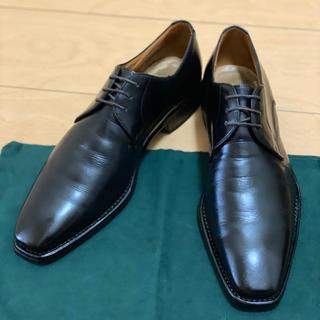 スーツカンパニー(THE SUIT COMPANY)のグッドイヤー製法 革底ビジネスシューズ 黒 24.5(ドレス/ビジネス)