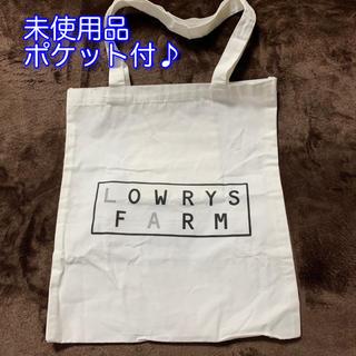 ローリーズファーム(LOWRYS FARM)の未使用品 ローリーズファーム ロゴ ビッグ トートバッグ(トートバッグ)