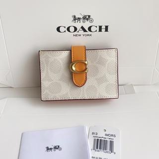 COACH - 在庫セール COACH 新品コインケース 小銭入れ カードケース 新作♡イエロー