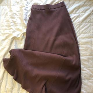 サニーレーベル(Sonny Label)のURBAN RESEARCH リブマーメイドカットスカート(ロングスカート)
