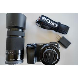 SONY - ソニー α6400  ダブルズームレンズキット ブラック(おまけ付き)