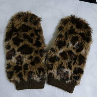 ローリーズファーム(LOWRYS FARM)のローリーズファーム☆レオパード柄手袋(手袋)