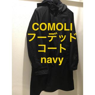 コモリ(COMOLI)のCOMOLI フーデッドコート navy (モッズコート)