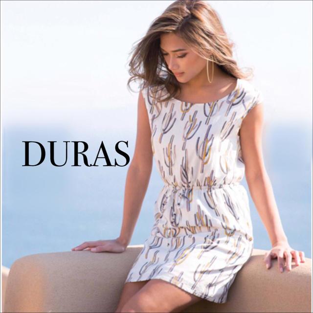 DURAS(デュラス)のDURAS サボテン柄 ワンピース♡ムルーア エゴイスト リップサービス セシル レディースのワンピース(ミニワンピース)の商品写真