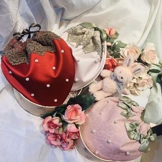 メゾンドフルール(Maison de FLEUR)の完売maison de fleur いちご巾着(ポーチ)