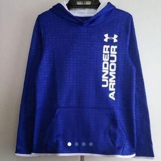 アンダーアーマー(UNDER ARMOUR)の新品値下げ!アンダーアーマー 裏起毛 パーカー 140(Tシャツ/カットソー)