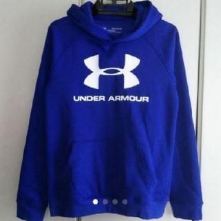 アンダーアーマー(UNDER ARMOUR)の新品!アンダーアーマー裏起毛パーカー140(Tシャツ/カットソー)