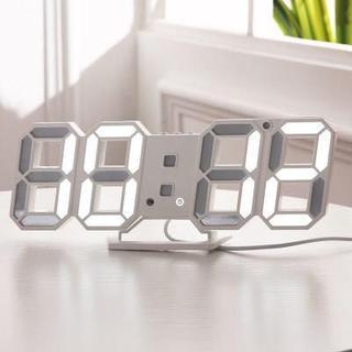 LEDデジタル時計 置き時計 壁掛け 卓上時計 (置時計)
