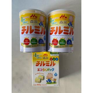 森永乳業 - チルミル大缶×2 エコらくパック×1  スティックタイプのポイント3点