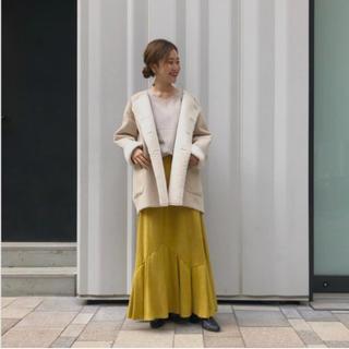 カプリシューレマージュ(CAPRICIEUX LE'MAGE)の裾フレアタックスカート(ロングスカート)
