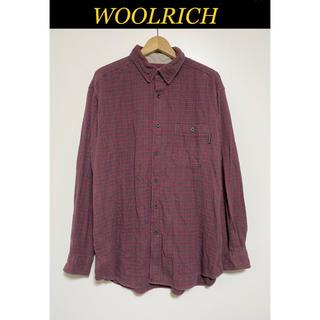 ウールリッチ(WOOLRICH)のWOOLRICH 長袖 ネルシャツ ボタンダウンシャツ(シャツ)
